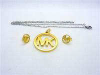 316L stainless steel jewelry set free shipping
