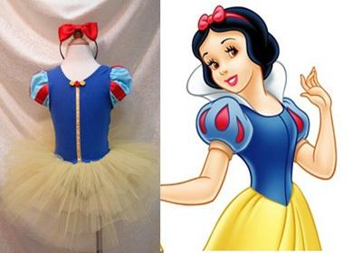 New Style2014Cute Children's princess dress dance ballet of bitter fleabane Snow White &Mickey dancing dress for girls,1LOT/5PCS(China (Mainland))