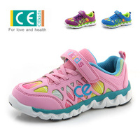 Free shipping, Children shoes breathable soft outsole cushion child running shoes boys shoes female child sport shoes