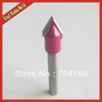 New 6*10MM 60 Degree 3D V-Shape Wood Engraving Bits, Carbide Cutters, CNC Carving Tools on MDF, PVC Machine Free shipping