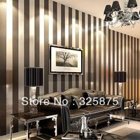 Stripe Zebra BlackWall Paper Wallpaper Roll Modern Feature Vertical Stripedwallpaper wallpaper stripes bedroom living room plain