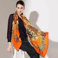 Silk scarf star style cashmere scarf new arrival large facecloth muffler scarf cape Women