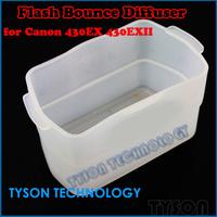 10PCS Camera Flashgun Softbox Flash Bounce Diffuser for Canon Speedlite 430EX 430EXII Yongnuo 500EX White Free Shipping
