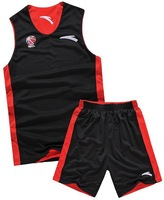 Cba jersey reversible basketball clothes set ANTA jersey basketball training service basketball jersey