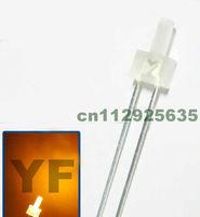 Indicator 2mm led lamp Orange(600-610nm) 2.0-2.5V diffuse dip led(CE&Rosh)