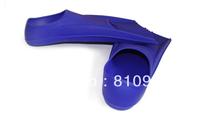 Optional silicone swim fins adjustable