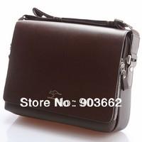 brand men fashion casual messenger bag,business men bag,genuine leather shoulder bag