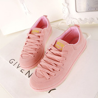 2013 Women Running Shoes Low Shoes Pink Canvas Woman Free Shipping