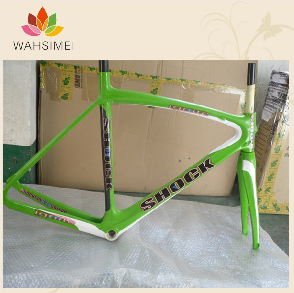 Special And Superweight Matte Full Carbon Road Bicycle Frame Of  Racing  Bike With Fork(China (Mainland))