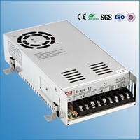 Free Shipping (S-350-24) 24VDC output 110/220VAC input 350W power supply