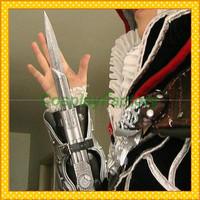 Free Shipping 1pcs NECA Assassin's Creed Hidden Blade Brotherhood Ezio Chritmas Gift,200g/pc