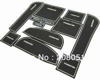 high quality! 2009-2012 Subaru Forester non-slip mat gate slot pad cup pad plastic coaster sticker 13pcs