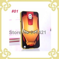 Cool Iron Man SGP Lovely Hard Back Case For Samsung Galaxy Note 3 Note III N9000 Hard Case