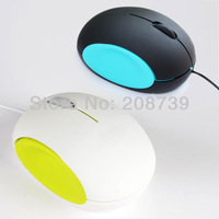new 2013 cute egg shape wired usb mouse, DHL free shipping
