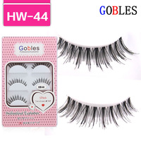 long Natural curl False Eyelashes Hand Made HW-44