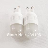 10PCS/LOT G9 3W 250lm 3500K 6-SMD 5060 LED Warm White Lights Ceramic Bulb Light 220V 240V