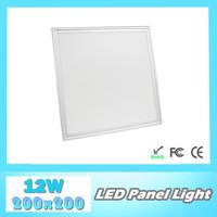 Wholesale High quality LED panel light 12W 200x200mm, SMD3014, AC85~265V, 100lm/W, led ceiling light