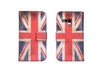 Fashion USA & UK Flag PU Flip Leather Case For Samsung Galaxy S3 Mini I8190 Free Shippng