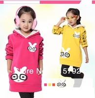 2013 new arrival girls hoodies for winter hot sale 4 pieces/lot DHL express