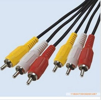 Copper eco-friendly 30 meters audio cable video cable audio and video cable 3 3 lotus line lotus line