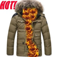 ON PROMOTION  WHOLESALE men's down jacket,fur collar,winter jacket men,brand hotsale fashion down jackets,parka USA BY DHL