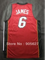 Miami  Authentic  Jersey james au jersey rev30 black red white mix order the best quality rev30 authentic basketball jersey