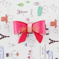 Exclusive Sales Acrylic Children Cartoon Headdress Big Bowknot Barrettes Import Machinery Production