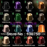Free Shipping Espresso Reusable Coffee Capsule cup Compatible NESPRESSO machines 10capsule  inside Lose Weight Tea