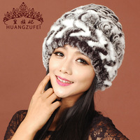 Thermal 2013 rex rabbit hair hat female winter hat female winter hat fur hat