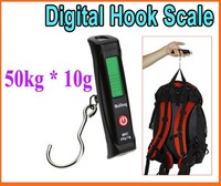 50kg 10g lcd display digital weight hook luggage scale