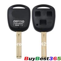 REMOTE KEY Emblem SHELL CASE Uncut Blade for LEXUS ES300 GS300 GS400 GS430 GX470 IS300 LS400 LS430 RX300 RX350 SC300 SC430 LX470