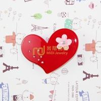 Exclusive Sales Acrylic Children Cartoon Headdress Diamante Plum Blossom Love Heart Barrettes Import Machinery Production
