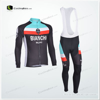 2013 NEW!!!  Winter long sleeve cycling jerseys+pants bike bicycle thermal fleeced wear set