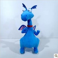free shipping 50CM Doc Mcstuffins Plush Toy Stuffed Animal dinosaur Toy for Children Gifts/Blue