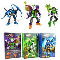 Hot ! Batman Toys Lantern Joker DIY 3pcs/lot Composable