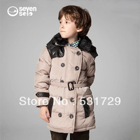 2013 the new fashion winter jackets warm 90% white duck down jacket for boys free shipping