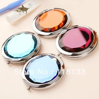 50X Cosmetic Compact Mirror Crystal Magnifying Make Up Mirror DROP SHIPPING