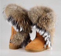 Free shipping Ms. warm winter boots snow boots tendon at the end tassel Tall hot cute sexy fashion boots wholesale and retail