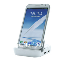 Free shipping 1pcs/lot FOR SAMSUNG GALAXY NOTE 3 III DESKTOP DOCKING DOCK STATION CRADLE CHARGER with audio out and 3 USB port
