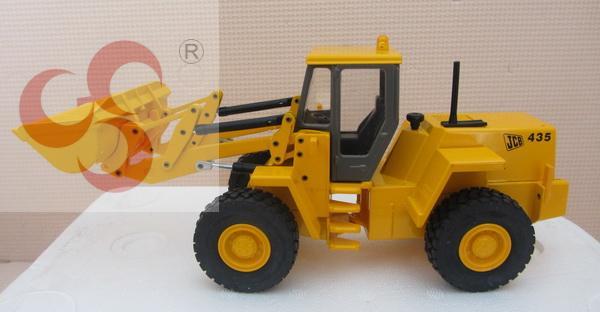 Jcb wheel 435 joal loader forkfuls alloy model truck toy(China (Mainland))