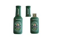 Mini Beer Bottle Shaped Style usb drive Memory Stick  4GB 8GB 16GB 32GB usb flash drive