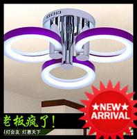 Brief modern ceiling light bedroom lamps lighting study light