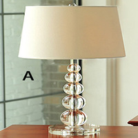 Creative Arts minimalist living room bedroom study lamp crystal table lamp - Wholesale