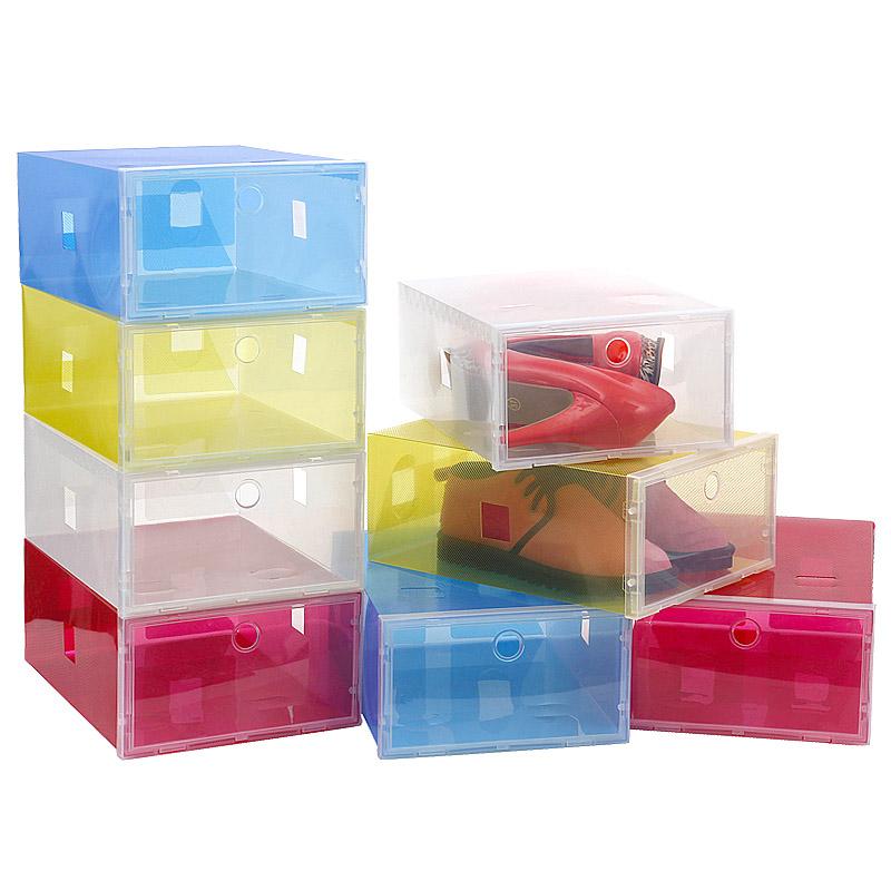 Achetez en gros pink drawer shoes storage box en ligne - Boite de rangement chaussure ...