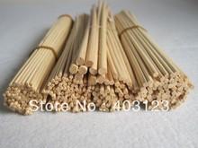 Hot sell:  30pcs  30cm*3mm Premium Quality natural Rattan Reed Refill Sticks(China (Mainland))