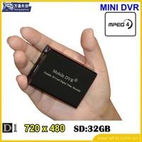 Palm-sized mini car DVR, 1 way video and audio DVR