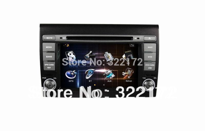Car Radio Audio DVD Player GPS For FIAT BRAVO 2007~2012 Free Shipping(China (Mainland))