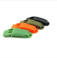 MINI $30 Duraflex bi-frequency whistle outdoor survival whistle rescue whistle whistled first aid only wholesale !