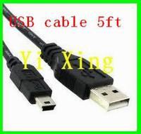 Free shipping 1.5M mini usb cable 1000pcs/lot