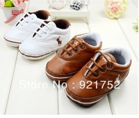 FREE SHIPPING White temperament baby shoes toddler,  baby  soft bottom branded sports shoes  1493